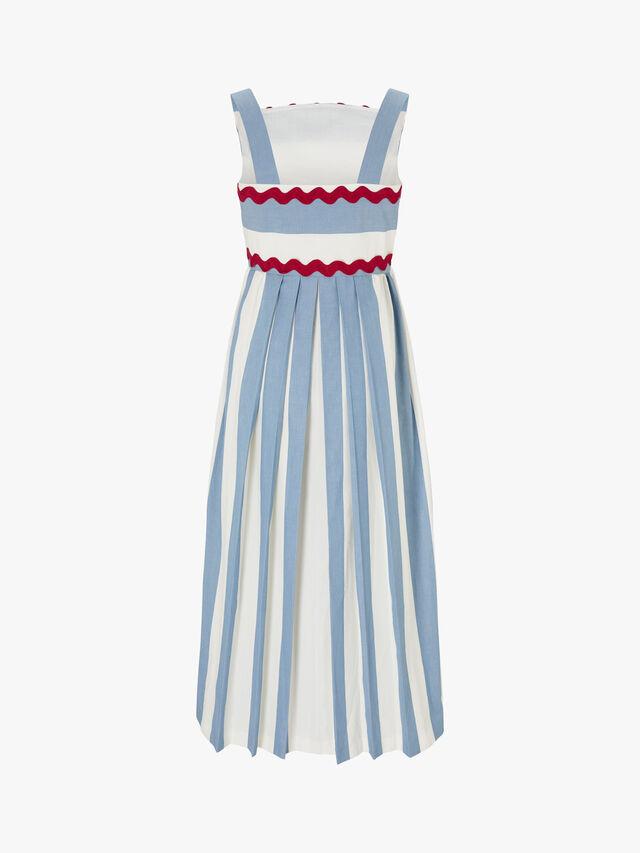 Amica Strappy Midi Dress