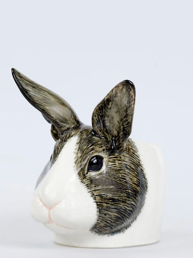 Dutch Rabbit Face Egg Cup