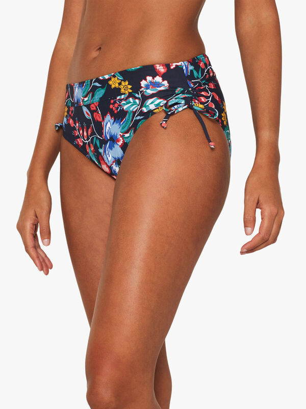 Jasmine Beach Mid Waist Brief