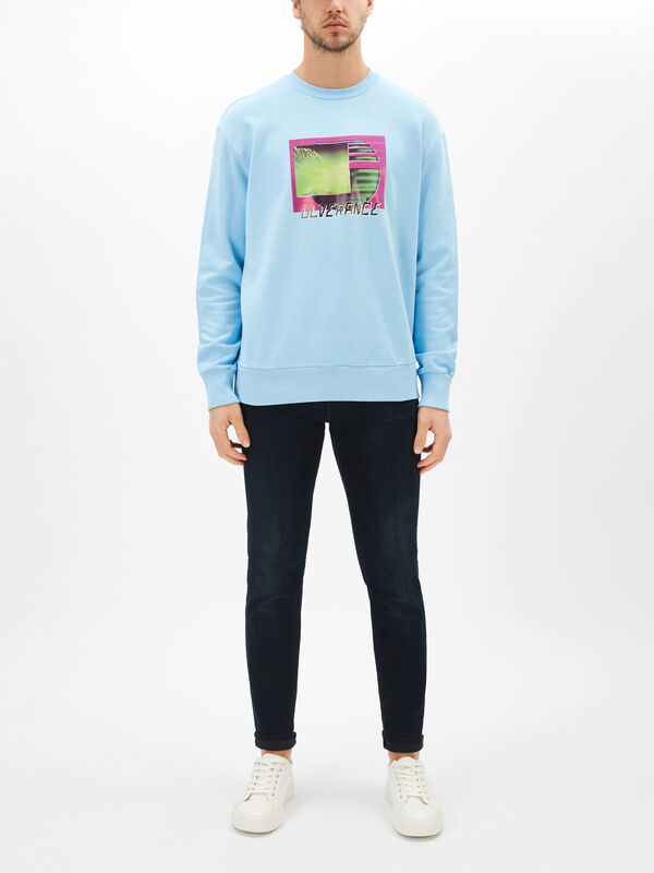 Graphic Neon Sweatshirt