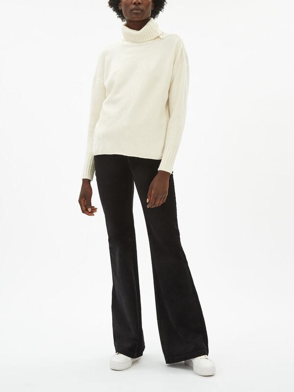 Cornice Boucle Roll Neck Sweatshirt