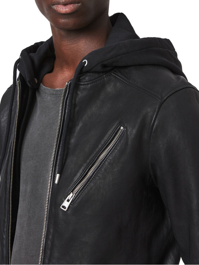 Harwood Leather Biker Jacket