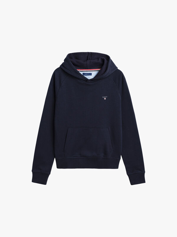 Small Logo Hooded Sweater