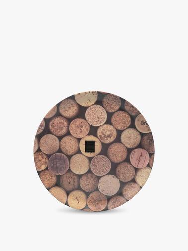 Cork Round Matte Tray