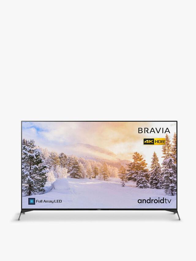 """65"""" LED TV 4K UHD Smart HDR 2020 KD-65XH9505BU"""