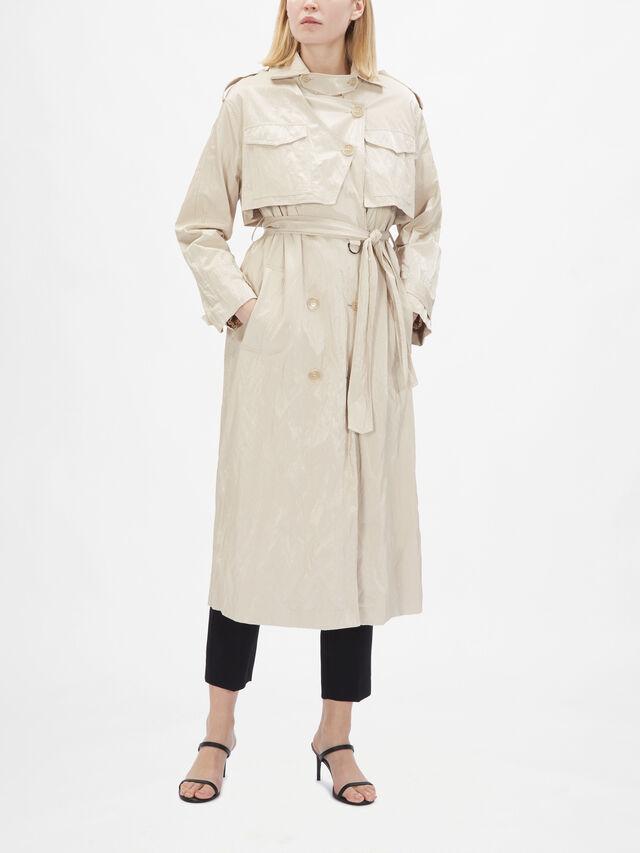 Mirabelle Deconstructed Trench Coat