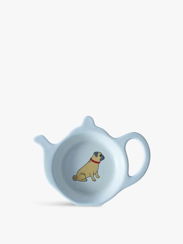 Teabag Dish Pug