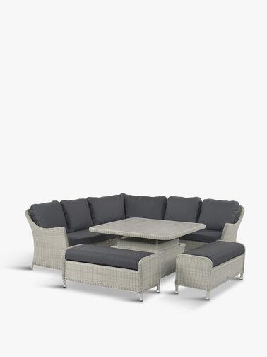 Monterey Modular Sofa Dining Table Set