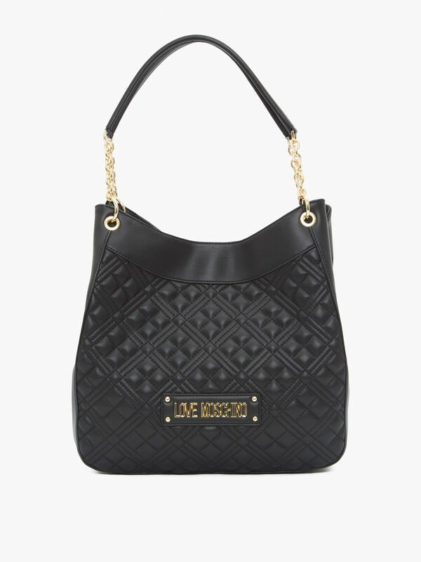 Quilted Slouchy Shoulder Tote