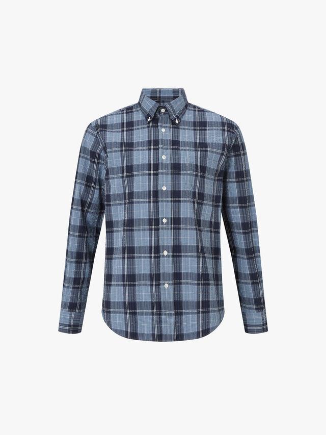 Pal Madras Check Seersucker Shirt