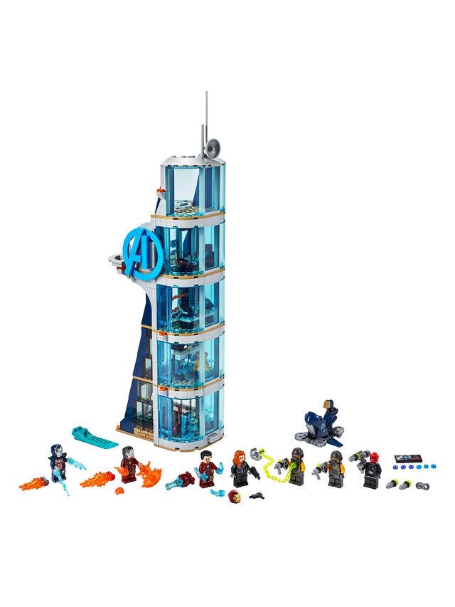 Avengers Tower Battle