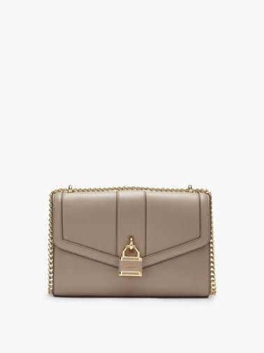 Ella Large Shoulder Flap Bag