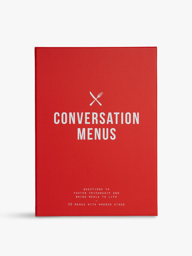 Conversation Menus Large Card Set