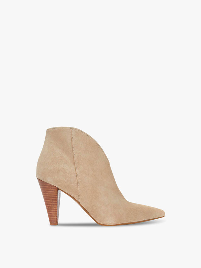 Finny Sand Suede Ankle Boots