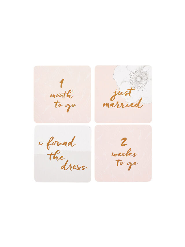 Wedding Countdown Cards