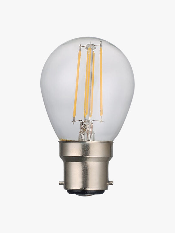 Dimmable LED 4W Clear Bulb