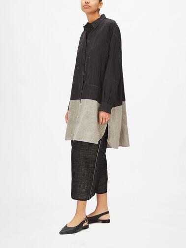 LS-Curved-Hem-Two-Tone-Long-Linen-Blend-Shirt-Sola