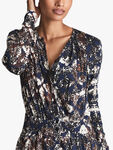 Antonia Printed Jersey Dress