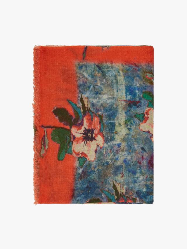 Hibiscus Scarf