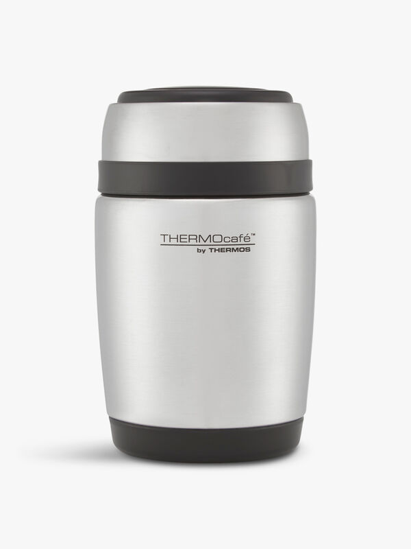 ThermoCafe Barrel Food Jar & Spoon