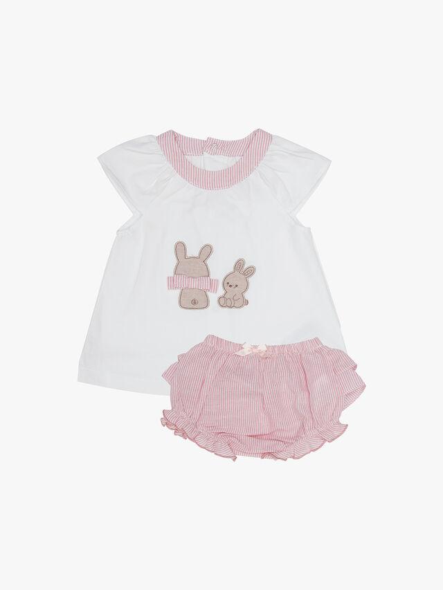 Bunny & Stripe Bubble Set