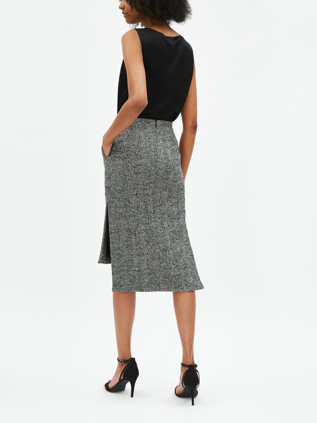 Drop Hem Skirt