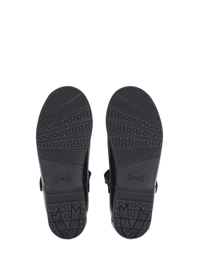 Leapfrog Black Patent School Shoes