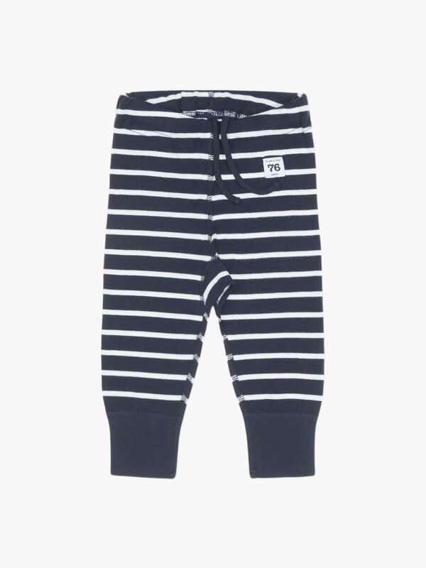 Striped GOTS Organic Kids Leggings