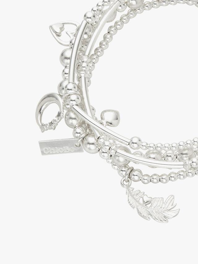 Divine Stack Of 5 Bracelet
