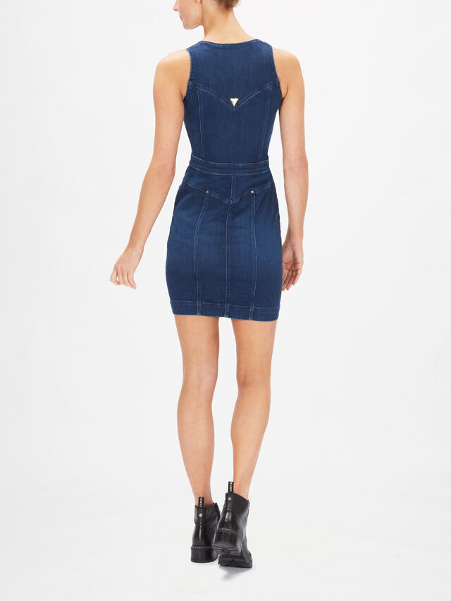 Margot Bi-Stretch Denim Dress