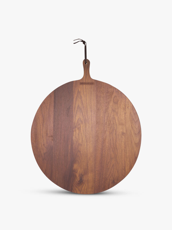 Walnut Bread Board XL Round
