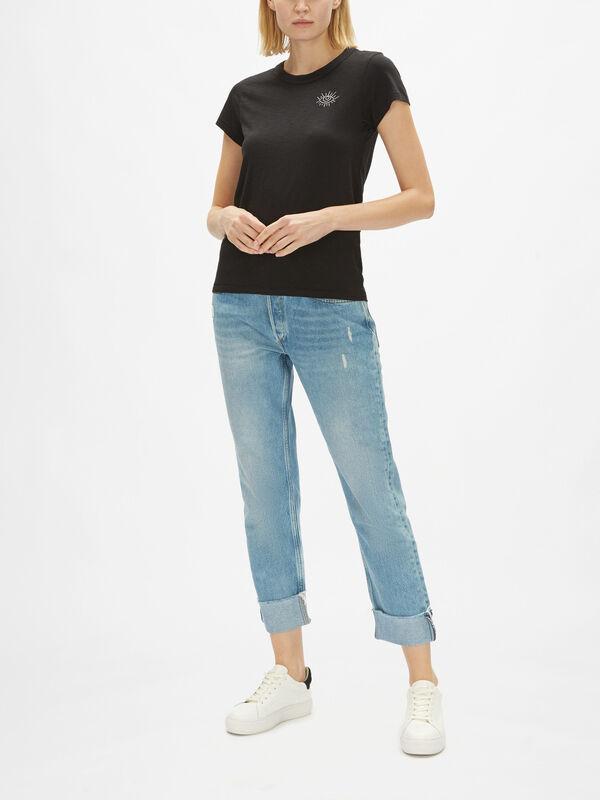 Mini Scribble Eye T-Shirt