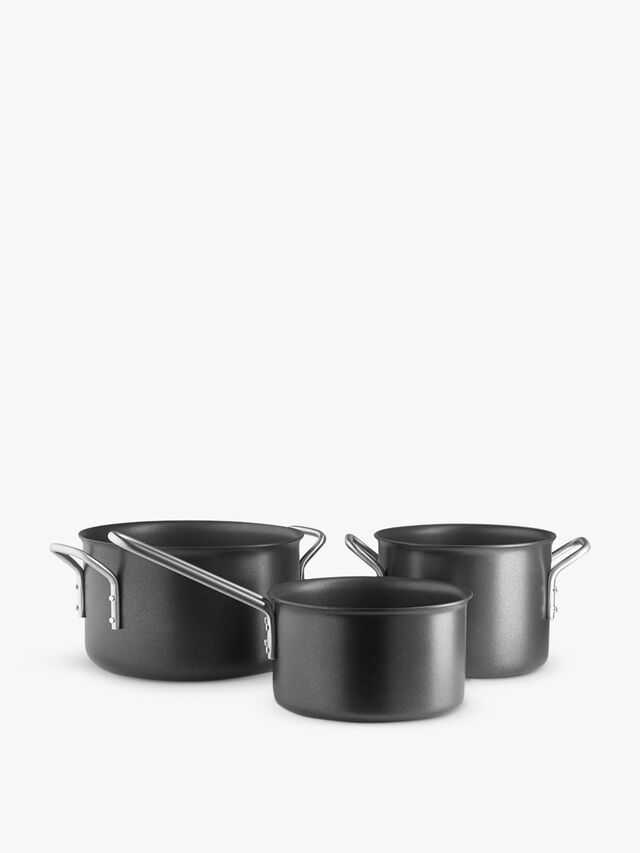 Black Line Cookware Set of Three