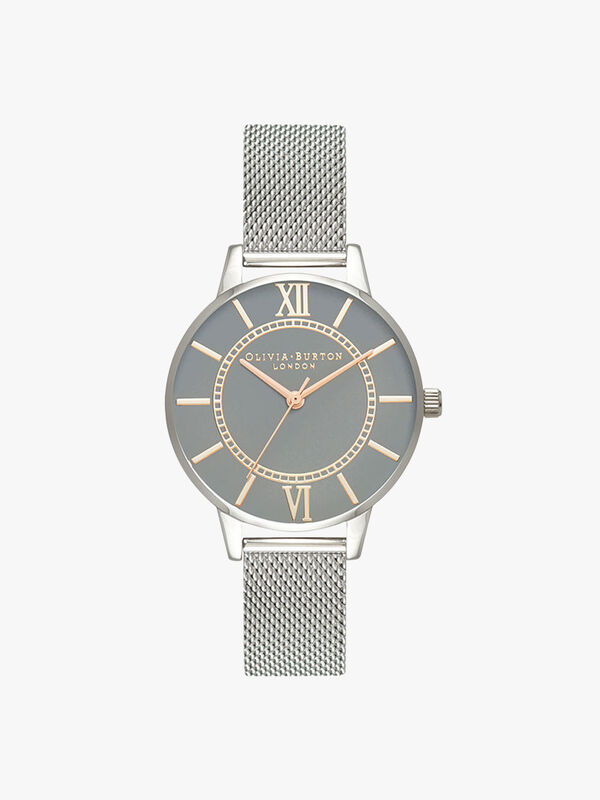 Wonderland Mesh Watch