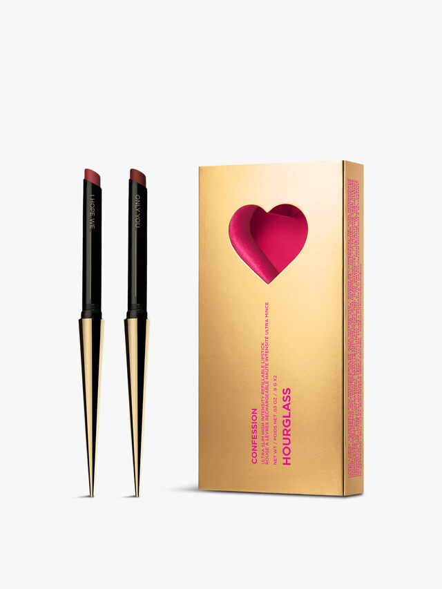 Confession Ultra Slim High Intensity Refillable Lipstick Duo Limited Edition