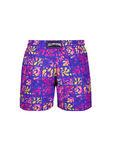 Moorea Turtle Leaf Print Swim Shorts