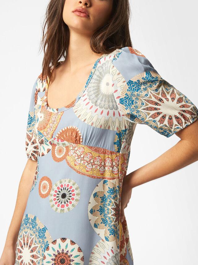 Fantasy Maxi Print Dress