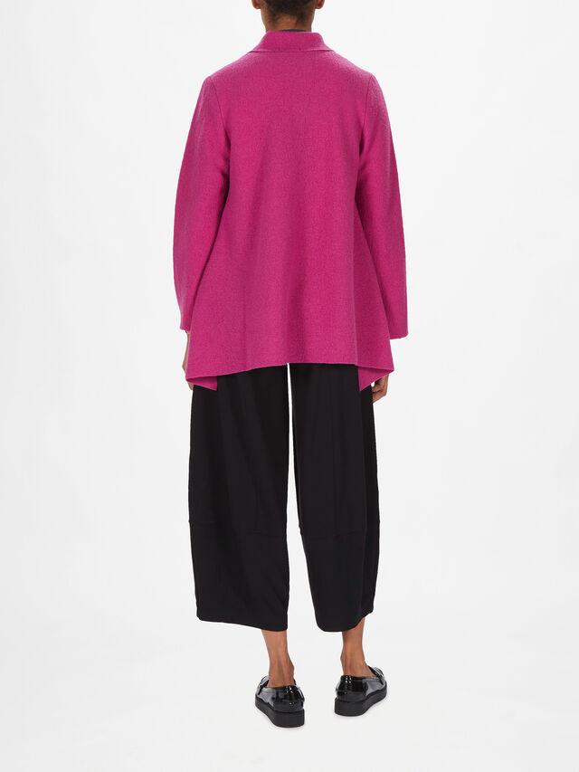 Mimmi Boiled Wool Zip Jacket