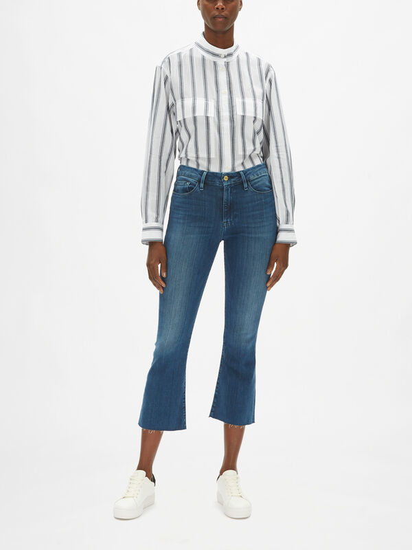 Le Crop Mini Boot Jeans