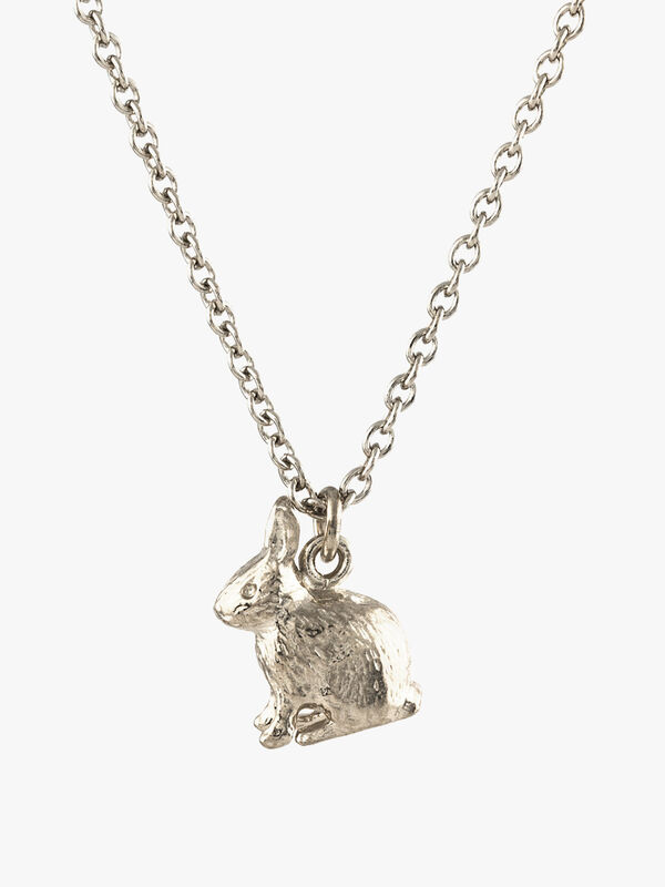 Sitting Bunny Necklace