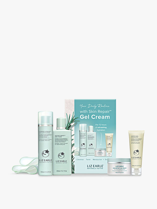 Your Daily Routine with Skin Repair™ Gel Cream Kit