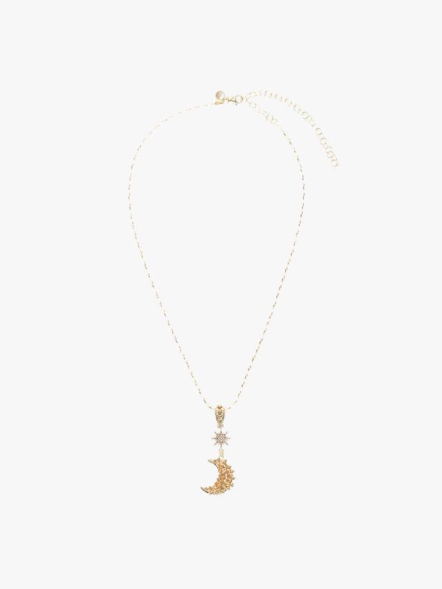Celestial Luna Pendant Necklace