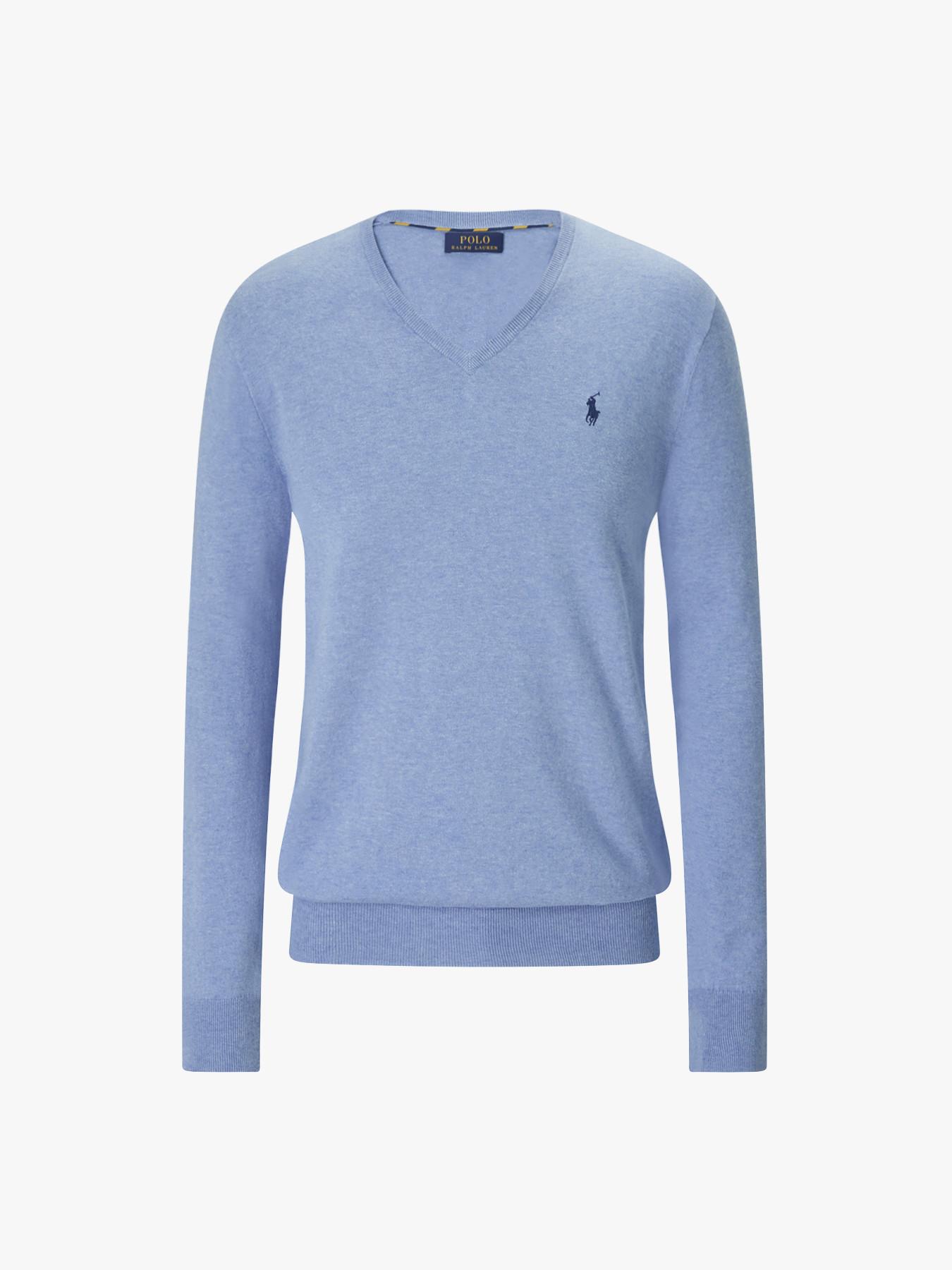 Polo Neck Fit Fenwick SweaterSweatshirts Slim V Ralph Lauren Cotton doWrCQxBe