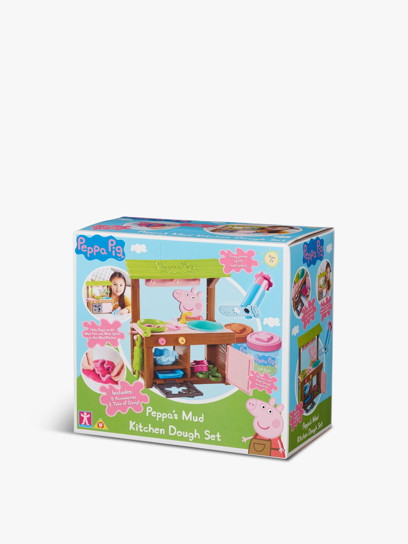 Peppa Pig Peppa S Mud Kitchen Dough Set Preschool Toys Fenwick
