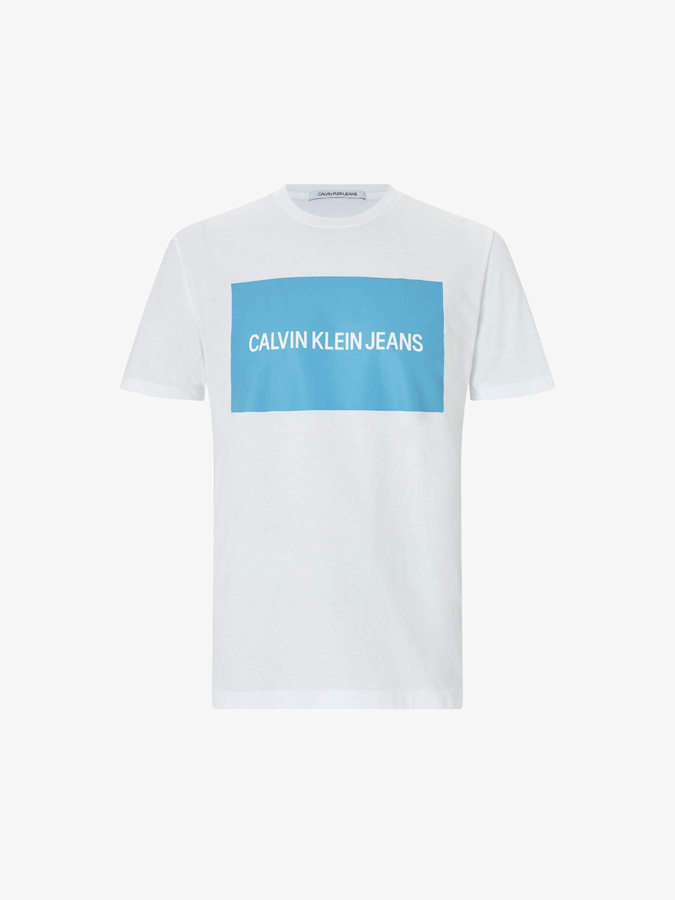 e421786063e8ce Calvin Klein Jeans Organic Cotton Logo T-Shirt | Logo | Fenwick