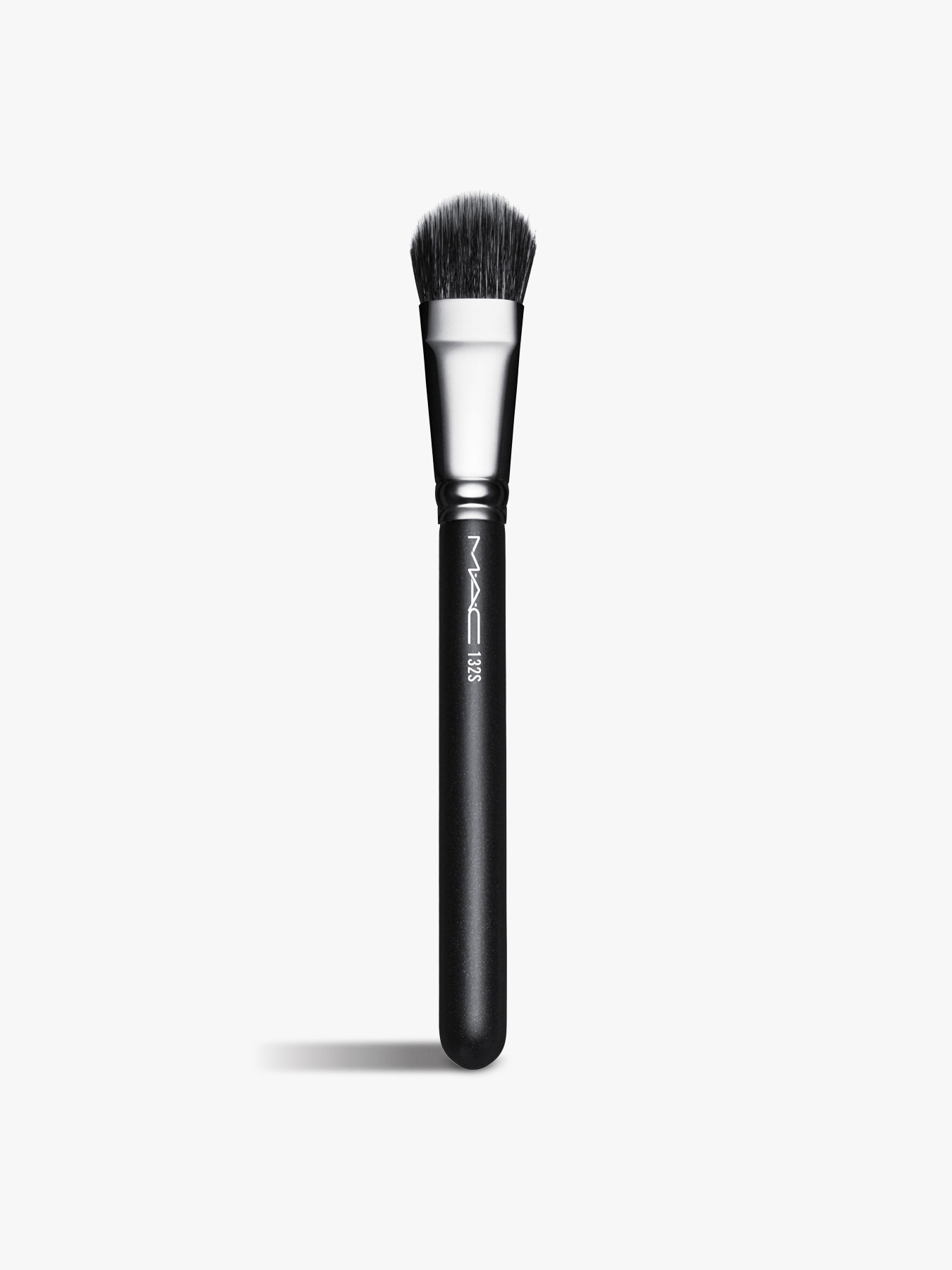 Mac 132s Duo Fibre Foundation Brush Make Up Brushes Fenwick
